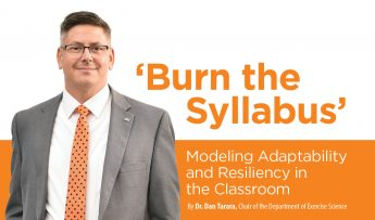 'Burn The Syllabus' An Essay by Dr. Dan Tarara