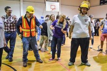 Students Host Halloween Dance for Individuals with Disabilities