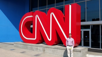 Rising Senior Takes Talents to CNN