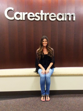 Student Explores Finance During Internship with Carestream Health
