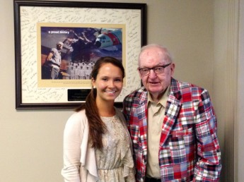 Political Science Major Interns for Rep. Howard Coble