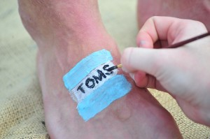 HPU High Point University TOMS One Day Without Shoes