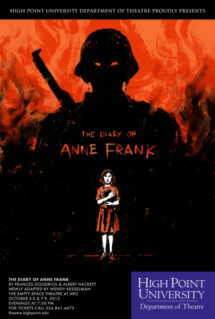Theatre To Perform Diary Of Anne Frank High Point