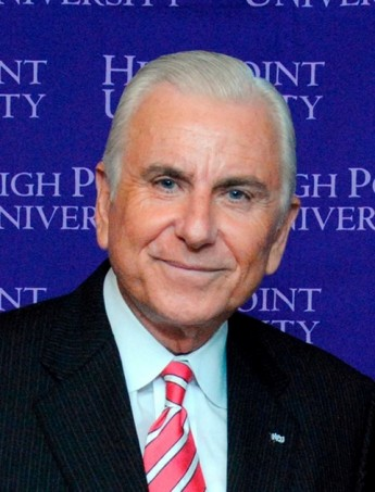 HPU President Nido Qubein to Serve as Chairman for North Carolina Campus Compact