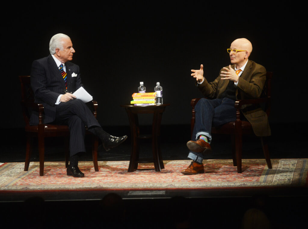 Dr  Qubein and Seth Godin
