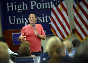 Renowned 'Teaching Naked' Author Presents to HPU Faculty