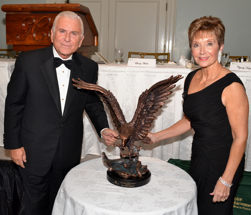 High Point University President Dr. Nido Qubein inducted into Business Hall of Fame