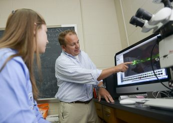 High Point Central Students Immersed in Research through Draelos Science Program