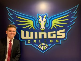 Internship Profile: Dru Loman Interns with the Dallas Wings