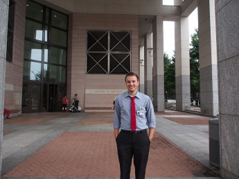 Criminal Justice Major Gains Experience at Charlotte Courthouse