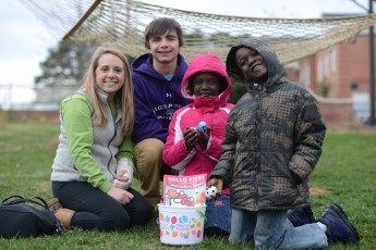 Big Brothers, Big Sisters Host Easter Egg Hunt