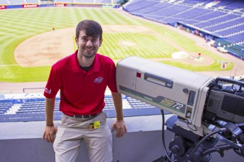 Class of 2014 Outcomes: Ed Harlin Captures Home Runs for Atlanta Braves