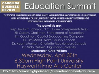 Roundtable to Examine Education in North Carolina