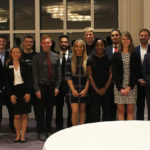 Seventeen teams of HPU students were given two minutes to pitch their business ideas to four judges and compete for cash prizes at the annual Elevator Pitch Competition.