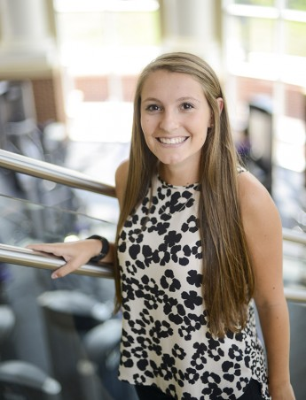 Student's Research on ACL Injuries Featured at Regional Conference