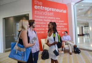 The Entrepreneurship Center inside Cottrell Hall