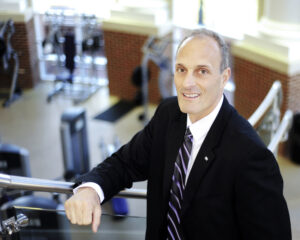 High Point University Professor Eric Hegedus