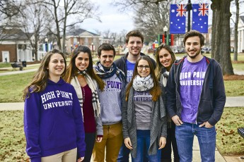 International Exchange Program Brings New Faces to City