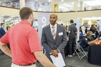 Students Connect with Employers at Career Expo