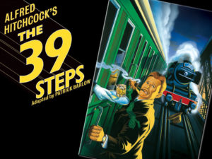 "HPU Theatre will present ""The 39 Steps,"" to be held at 7:30 p.m. on Oct. 6-8 and Oct. 10-12 in the Empty Space Theatre."