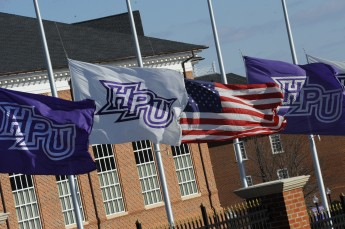 HPU Lowers Flags in Honor of Naval Yard Tragedy
