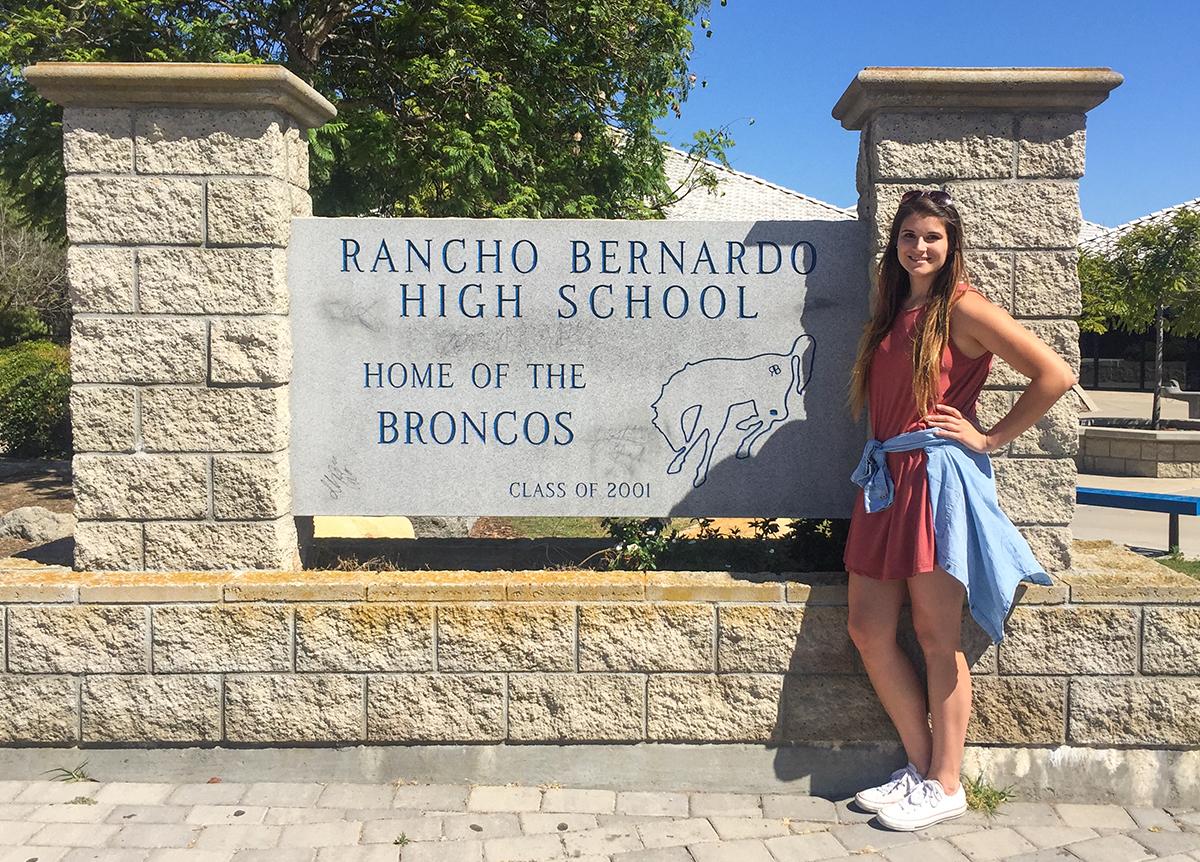 Rancho Bernardo High School Campus Map.Class Of 2016 Outcomes Gabi Mirand Teaches In San Diego High