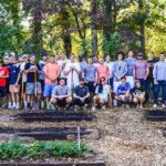 Kappa Sigma gardening