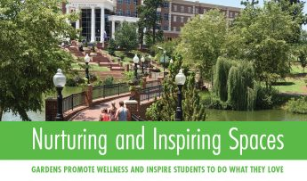 Nurturing and Inspiring Spaces: Gardens promote wellness and inspire students to do what they love