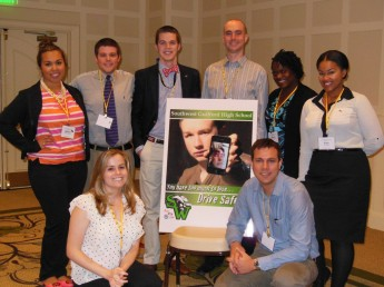 Graduate Students Present 'Safe Driving' Campaigns at Eastern Communication Association Annual Meeting