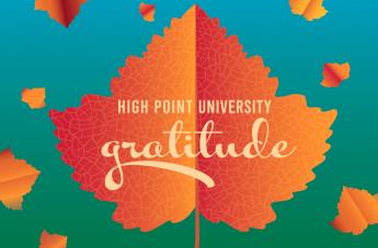 High Point University's 2020 Gratitude Project