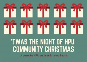 'Twas the Night of HPU Community Christmas