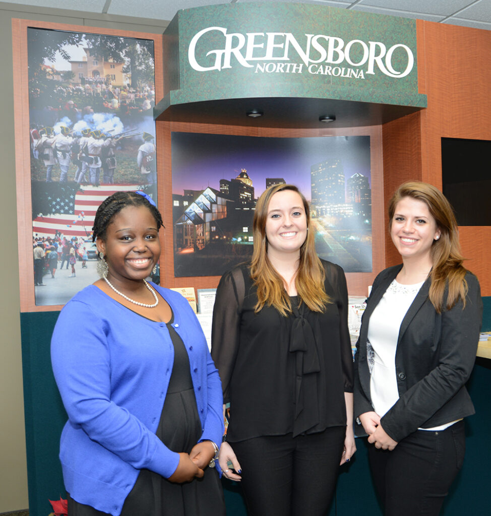Greensboro Visitor's Center Interns