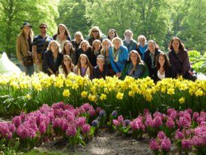 Group Photo - Keukenhof Gardens