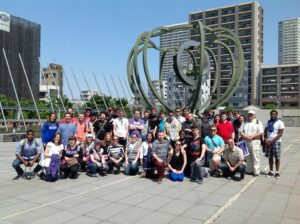 Group photo - outside the Museum of Contemporary Art