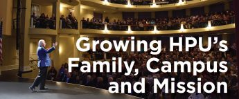 Growing HPU's Family, Campus and Mission