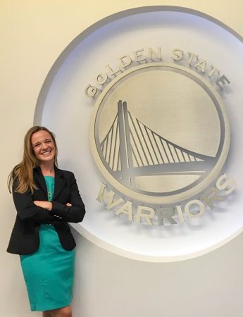Class of 2016 Outcomes: Gwena Pitt Promotes Santa Cruz Warriors