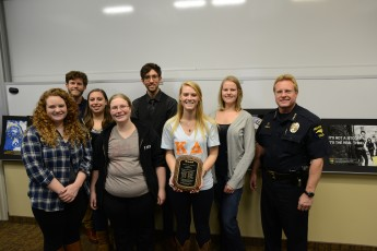 Students Design Posters for HPPD Recruiting Campaign