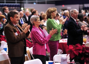 Annual Prayer Breakfast Rings in Christmas, Honors Mandela