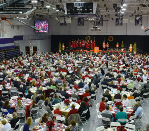 HPU 2013 Prayer Breakfast Crowd