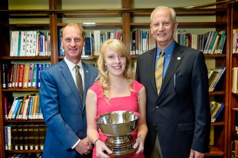Aurelia Miller Presented with HPU's 2018 Haverty Cup
