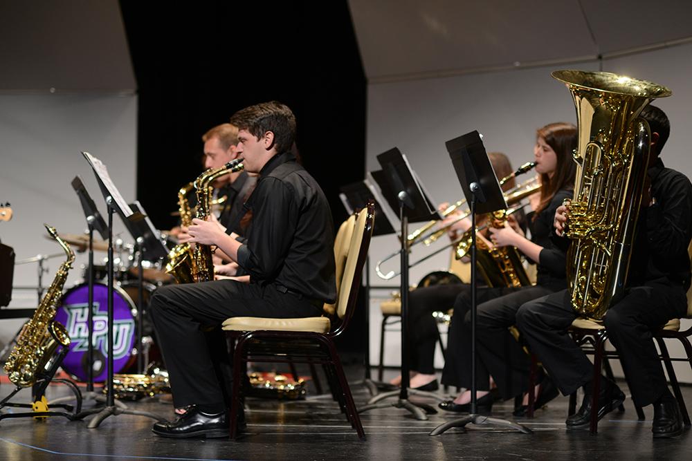 Conjunto de jazz HPU 3