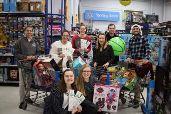 Students Raise More than $14,000 for the Angel Tree Program