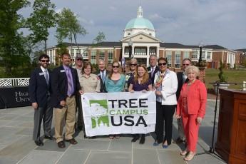 HPU Celebrates Arbor Day in New Amphitheatre