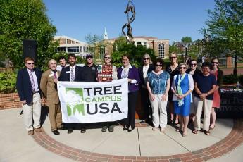 HPU Receives 'Tree Campus USA' Award at Arbor Day Celebration