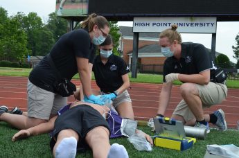 HPU Students Partner with Guilford County EMS for Experiential Learning