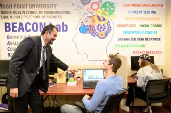 HPU Students Conduct Research in New BEACON Lab