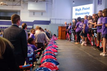 HPU Builds 116 Bicycles for Local Children