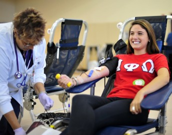 HPU Collects 213 Pints at First Blood Drive of the Year