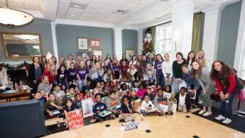 HPU Education Students Conclude Semester with Book Buddy Celebration