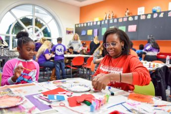HPU's Stout School of Education Welcomes Children for Book Buddy Celebration